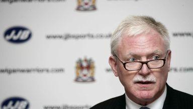 Ian Lenagan: Accepts responsibility for Wigan Warriors' below-par season