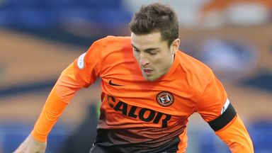 Paul Paton: Unavailable for Dundee United this weekend