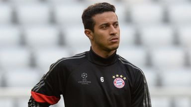 Thiago Alcantara: The midfielder will be training with his team within weeks