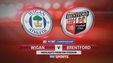 Wigan 0-0 Brentford