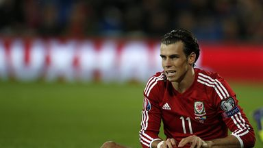 Gareth Bale: Out of Liverpool clash