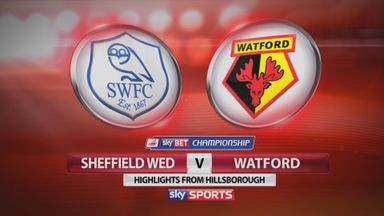 Sheff Wed 0-3 Watford