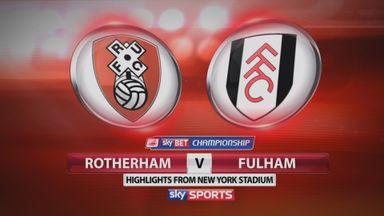Rotherham 3-3 Fulham