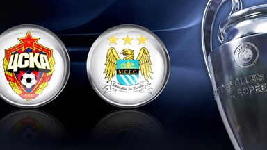 CSKA Moscow v Manchester City: Live on Sky Sports 5 HD
