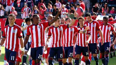 Chivas USA players before recent MLS clash with San Jose Earthquakes