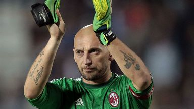 Christian Abbiati: Has entered the final year of his contract at AC Milan