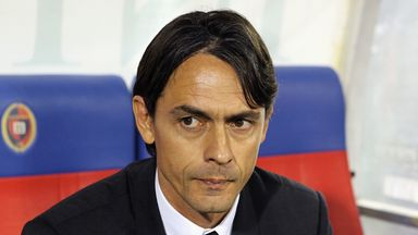 Filippo Inzaghi: AC Milan coach could be taking on Louis van Gaal in January