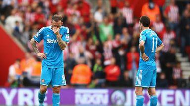 Steven Fletcher and Adam Johnson at Southampton