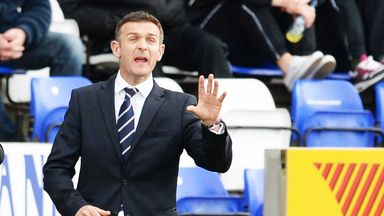 Jim McIntyre: Questioned referee after 2-2 draw at St Mirren