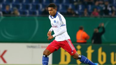 Jonathan Tah in action for Hamburg