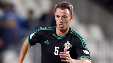 Jonny Evans: Absent again for Northern Ireland