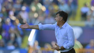 Jose Luis Mendilibar: Sacked after Real Madrid drubbing