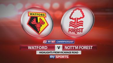 Watford 2-2 Nottingham Forest