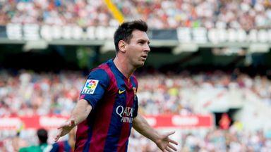 Lionel Messi: Gunning for Eibar