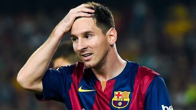 Lionel Messi: Tipped to stay at Barca by club president