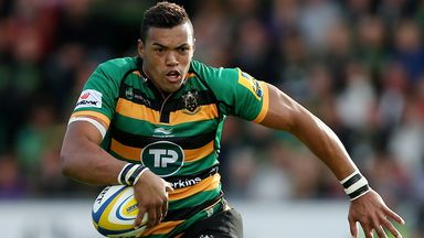 Luther Burrell: Could miss England's autumn Tests after hurting right hand