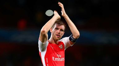 Per Mertesacker:Uupbeat on Arsenal's chances in the top flight this season