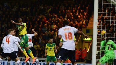Camerone Jerome: Scored twice to give Norwich the win