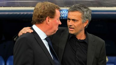 Redknapp is a fan of the 'Special One' Jose Mourinho