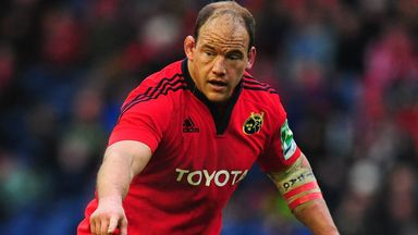 BJ Botha: Comes in at tighthead for Munster