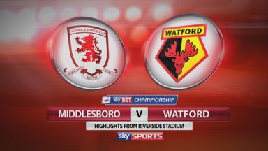 Middlesbrough 1-1 Watford