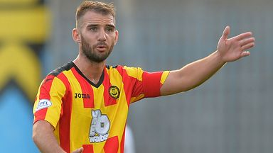 Sean Welsh: Still not ready to make his Partick Thistle comeback following injury