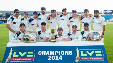 2014 County Champions Yorkshire