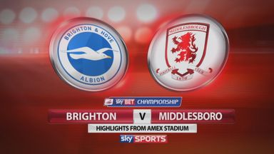 Brighton 1-2 Middlesbrough