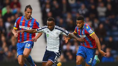 Saido Berahino: Grabbed late equaliser against Crystal Palace