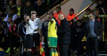 Cameron Jerome: Discusses the incident with referee Mark Clattenburg