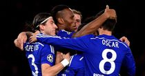Didier Drogba: Back among the goals in Chelsea colours