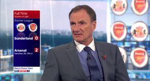 Thompson unimpressed with Arsenal