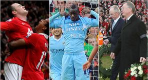 Ahead of Sunday's clash, TEAMtalk looks through the history of Manchester derbies
