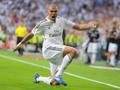 Pepe was on target for Real Madrid
