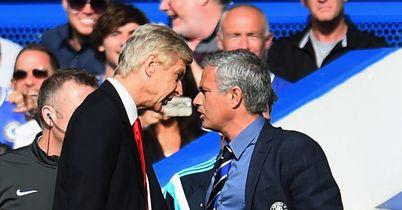 Arsene Wenger: Confronted Jose Mourinho