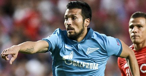 Ezequiel Garay: Joined Zenit last summer