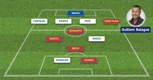 Real and Barca XI: Guillem Balague picks his side