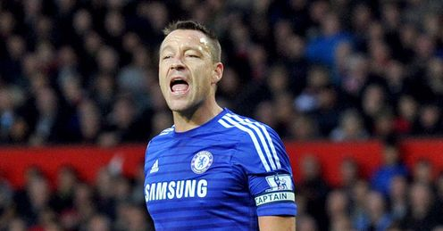 John Terry: Has signed a new one-year Chelsea deal