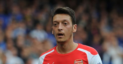 Mesut Ozil: Feeling positive as he nears return from knee injury