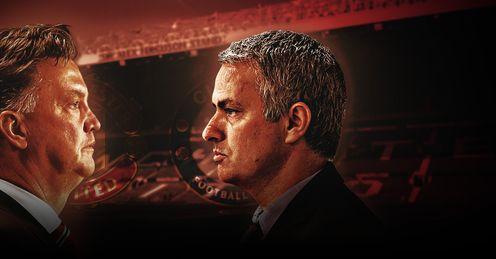 Louis van Gaal & Jose Mourinho: Ready for Super Sunday