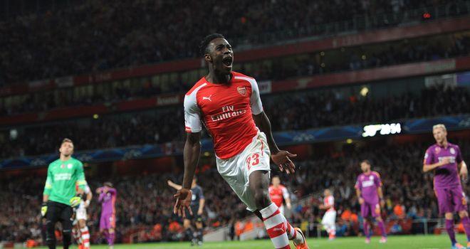 Arsenal hat-trick hero Danny Welbeck