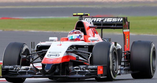 Marussia's Max Chilton