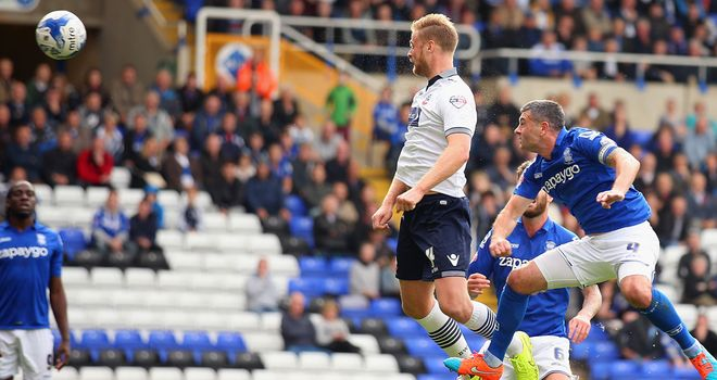 Matt Mills: Scores for Bolton against Birmingham