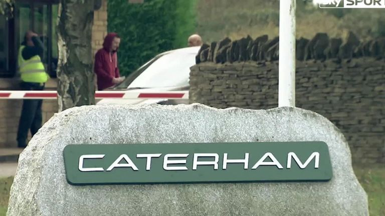 Caterham: Formula 1 team have made 230 staff redundant