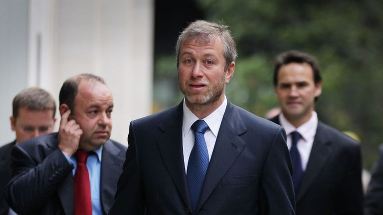 Roman Abramovich changed the course of Chelsea's history in 2003