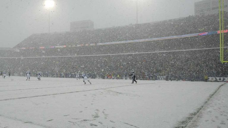 Wilson Stadium in Buffalo