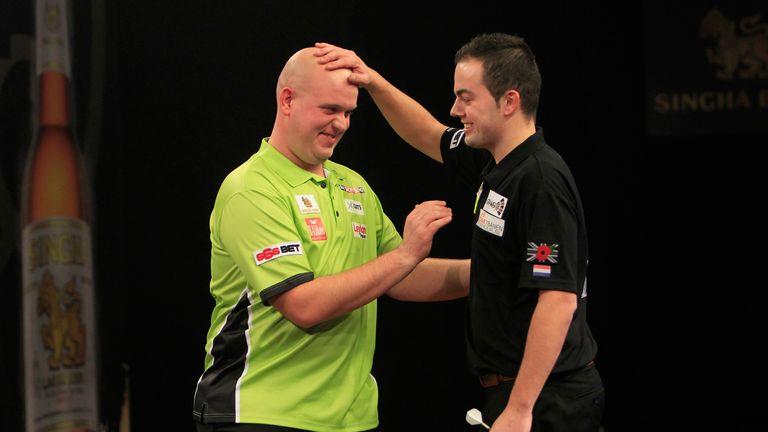 Dekker and Van Gerwen face-off in Belgium