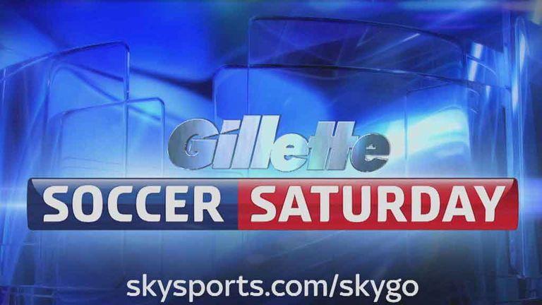 Soccer Saturday: 12pm, Sky Sports News HQ