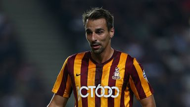 Filipe Morais: Netted for Bradford