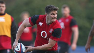 Owen Farrell: Ruled out of Wales clash